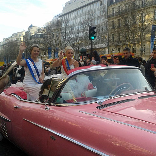 Desfile Champs Élysées
