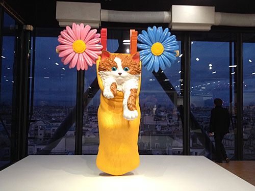 Jeff Koons, Lobster and Cat on a Clothesline