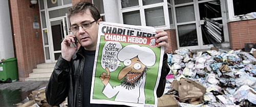 Incêndio da sede de Charlie Hebdo