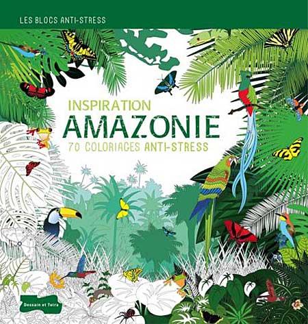 Caderno para colorir Amazonia