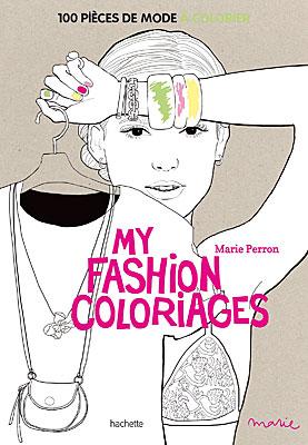 Caderno para colorir, fashion