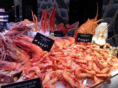 La Grande Épicerie de Paris, peixaria