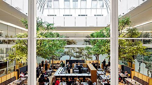 La Grande Épicerie de Paris, restaurante