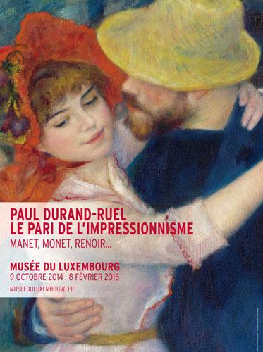 Impressionistas no Luxembourg