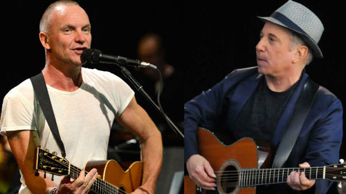 Sting e Paul Simon