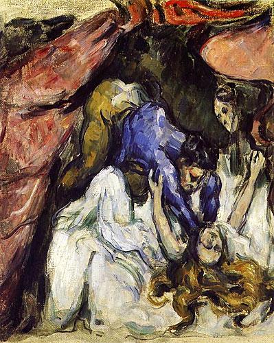 A amante estrangulada de Cézanne