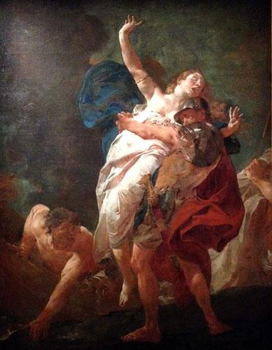 O rapto de Helena, Giambattista Piazzetta