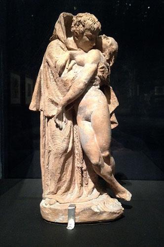 O Monge e a jovem, Auguste Rodin