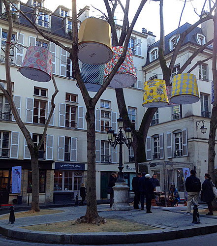 Saint Germain, Place de Furstenberg