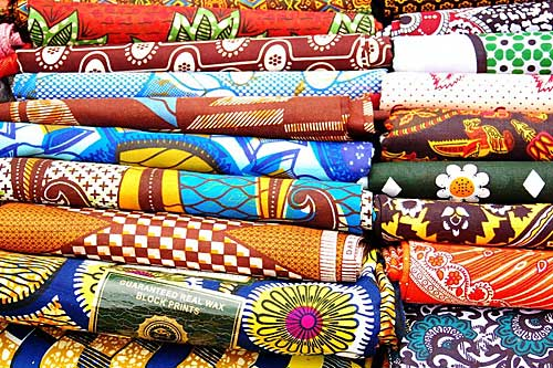 Wax, tecidos africanos