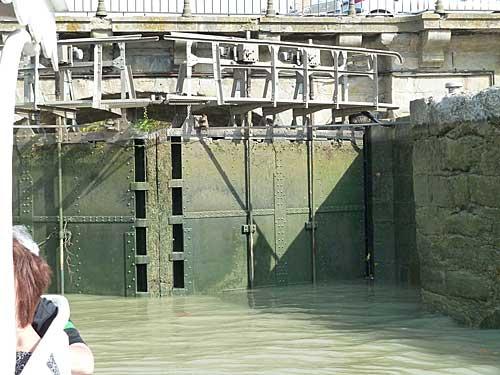Canal du Midi, ecluse