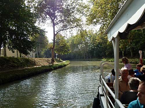 Canal du Midi, passeio de barco