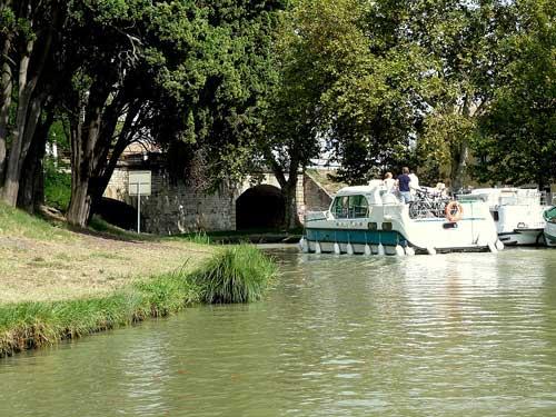 Canal du Midi, peniches