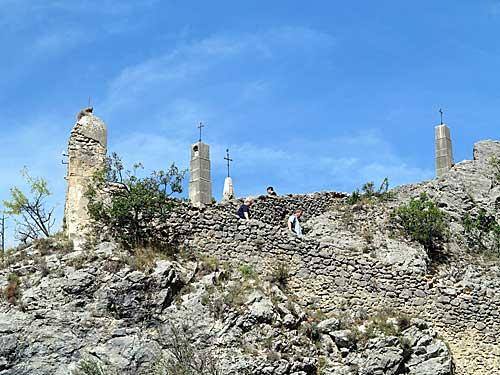Capela de Moustiers, caminho