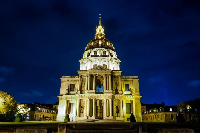 Les Invalides e sua linda cúpula dourada