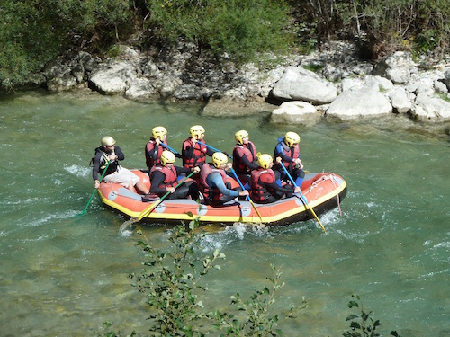 Rafting no Verdon