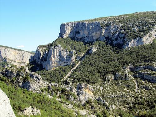 Gorges du Verdon - rive droite