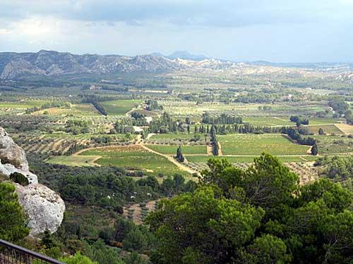 Vista, Baux de Provence