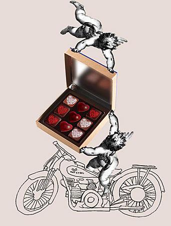 Chocolates Jean Paul Hévin, dia dos namorados