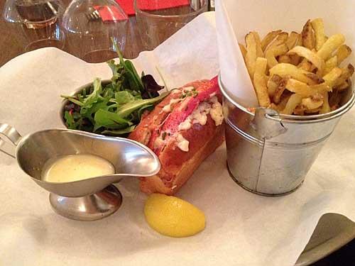 Sanduíche de lagosta