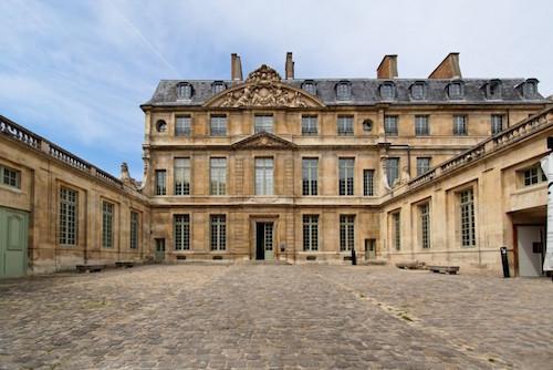 O Hôtel Salé onde funciona o Museu Picasso (foto retirado do site Art/ctualité)