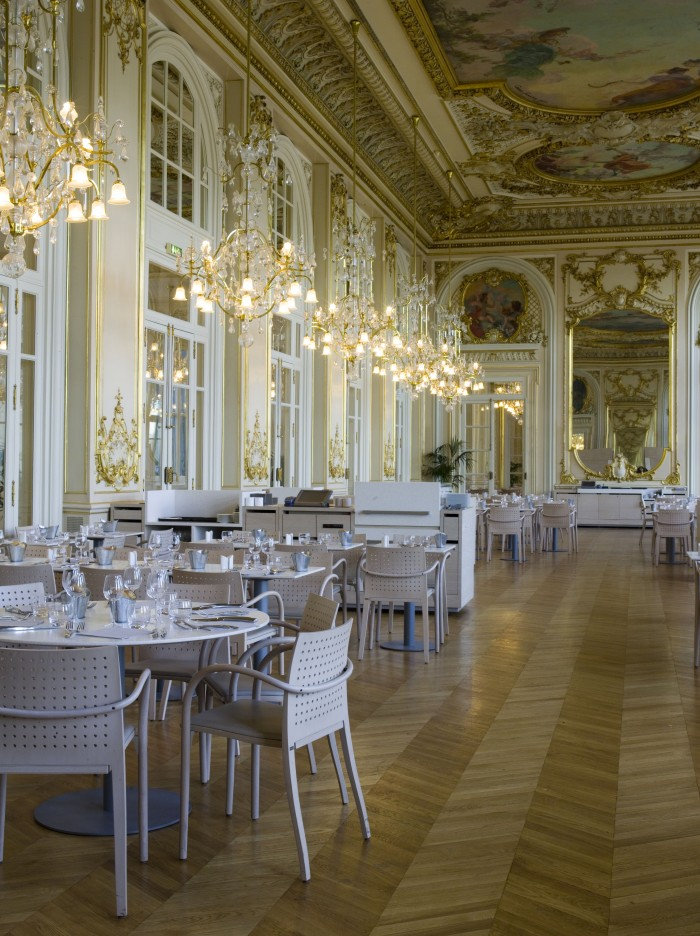 O restaurante do antigo hotel do Musée d'Orsay