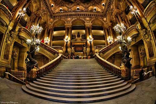 Opera Garnier, escada central