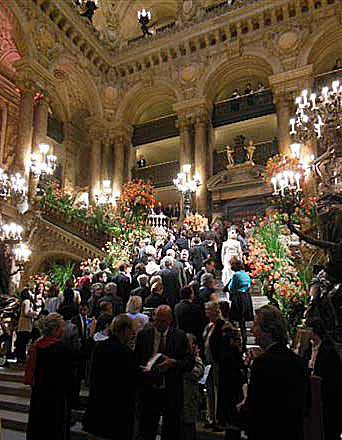 Opera Garnier, Noite de Gala