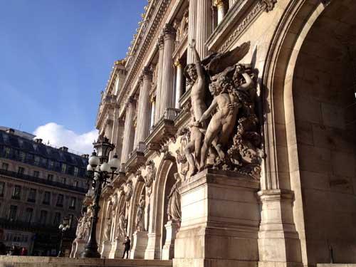 Opera Garnier, fachada principal