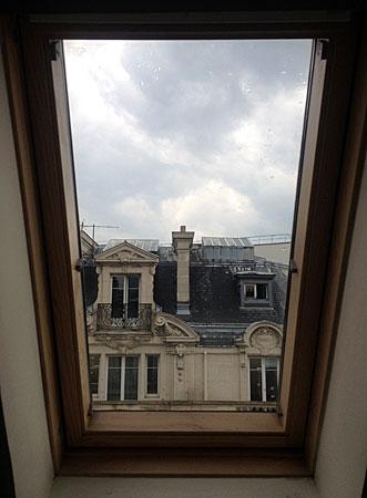 Paris, da minha janela