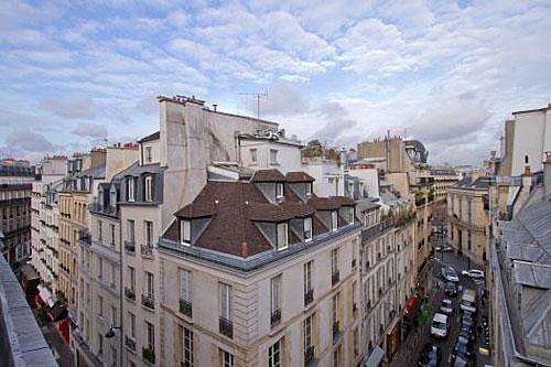 Apartamento em Paris, vista