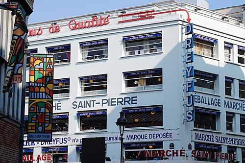 Marché Saint Pierre, para tecidos e afins