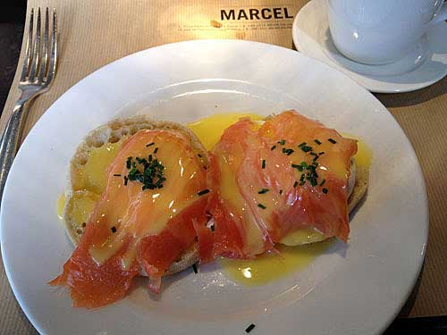 Brunch no Marcel
