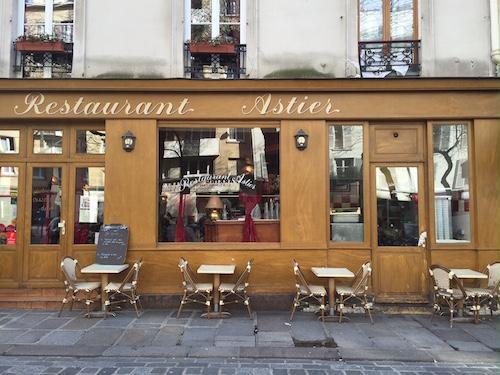 O restaurante Astier