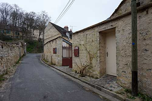 Entrada do Auberge Ravoux