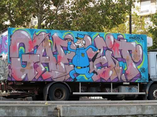 Canal Saint Martin, grafittis