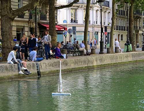 Canal Saint Martin, modelismo