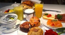 Claus, café da manhã