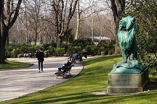 Luxembourg e suas esculturas