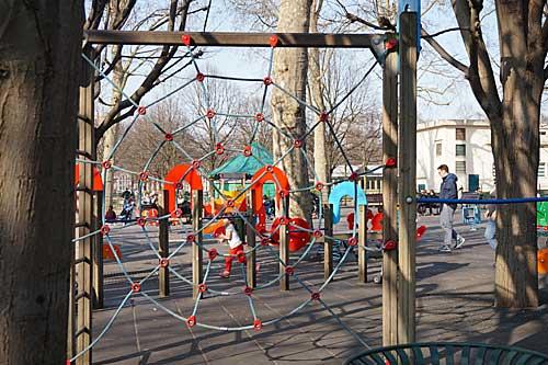 Jardin Luxembourg, espaço crianças