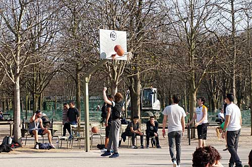 Jardin du Luxembourg, esportes