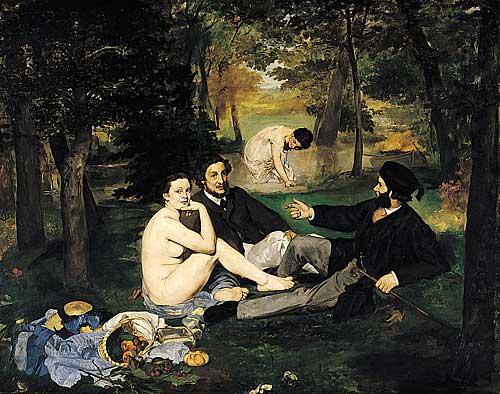 Édouard Manet, Déjeuner sur l'Herbe