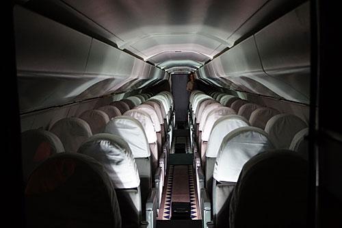 Interior do Concorde