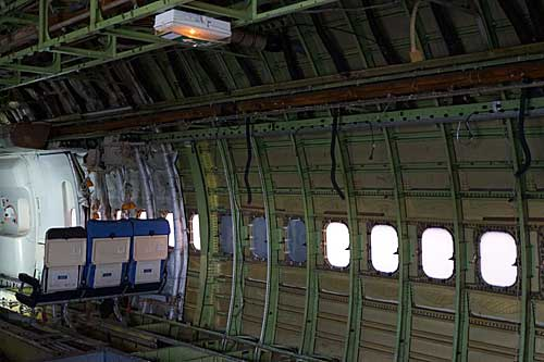 Interior do Boeing