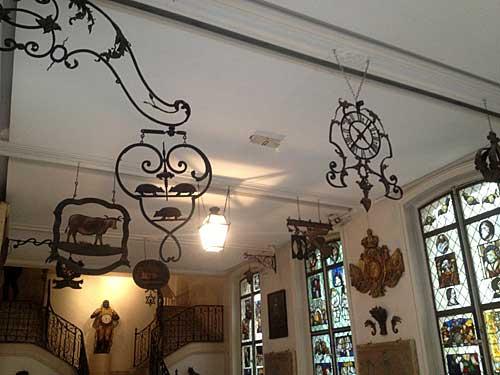 """Museu Carnavalet, sala das """"enseignes"""""""