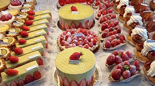 Tortas de morango de Sébastien Gaudart