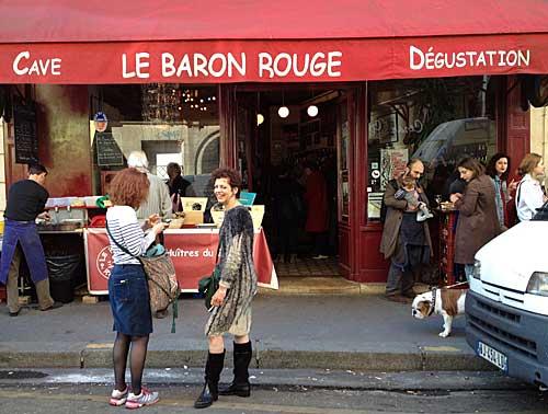 Baron Rouge, foto arquivo Conexão Paris
