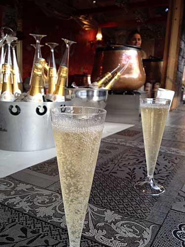 Champanhe em Montmartre
