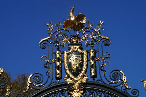 Portão do Palais de l'Élysée