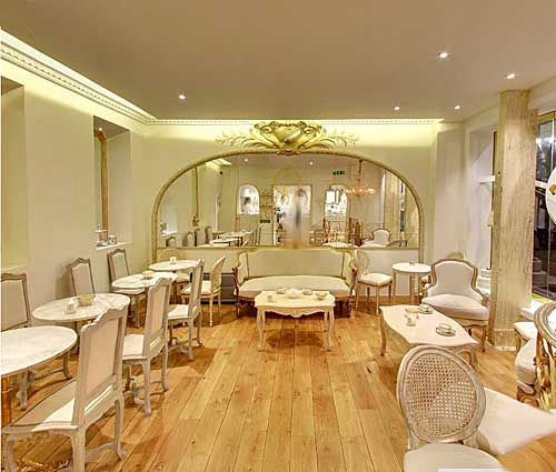 Salão de chá, Il Gelato de la Marchese